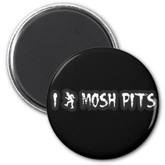 Punk Rock Mosh pit guys girls punk music slam pit Magnet
