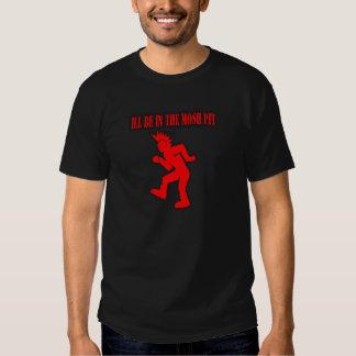Punk Rock Mosh pit moshing slam dance Tee Shirts