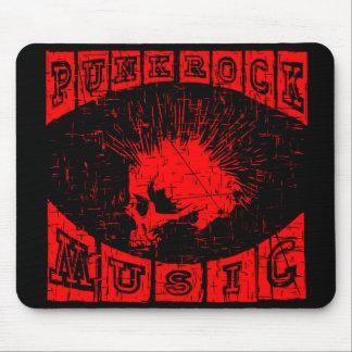punk rock music mouse mat