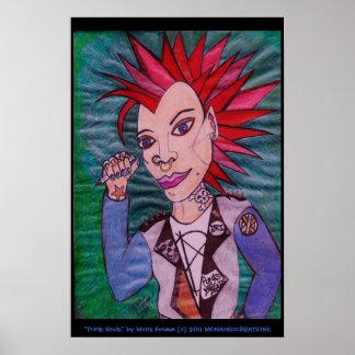 """Punk Rock"" Poster"