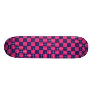 Punk Rock Preppy Custom Skate Board