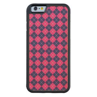 Punk Rock Preppy Maple iPhone 6 Bumper Case
