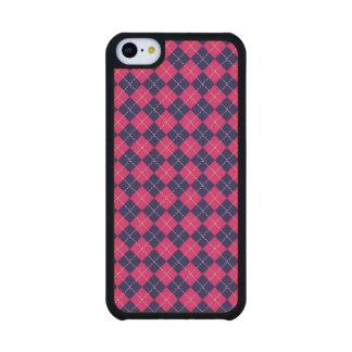 Punk Rock Preppy Maple iPhone 5C Case