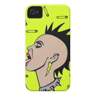 Punk Rock Sista iPhone 4 Cover