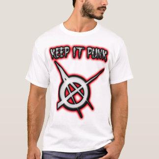 PUNK ROCK t shirt