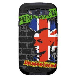 Punk rock - union jack Mohawk Samsung Galaxy SIII Covers