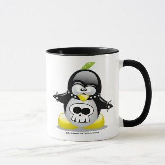 Punk Rocker Penguin Mug