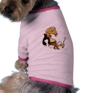 Punk Rocker Rat Pet T Shirt