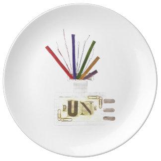 Punk Room Diffuser Porcelain Plate