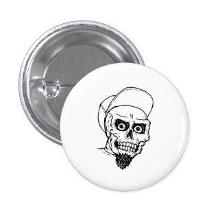 Punk Skull 3 Cm Round Badge
