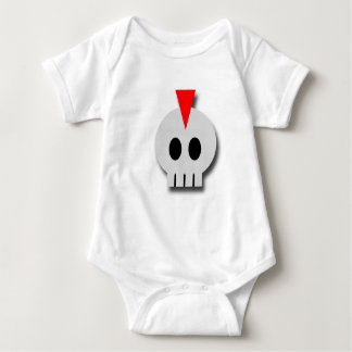 Punk Skull Baby Bodysuit