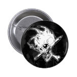Punk Skull Button