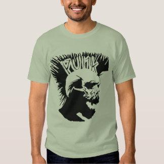 Punk Skull Camo Shirts