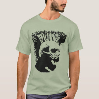 Punk Skull Camo T-Shirt
