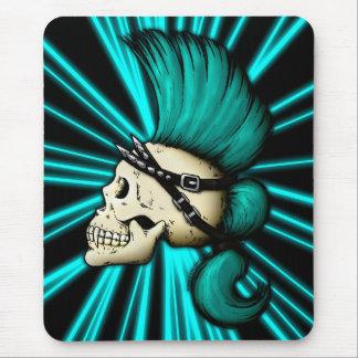 Punk Skull Mouse Pad