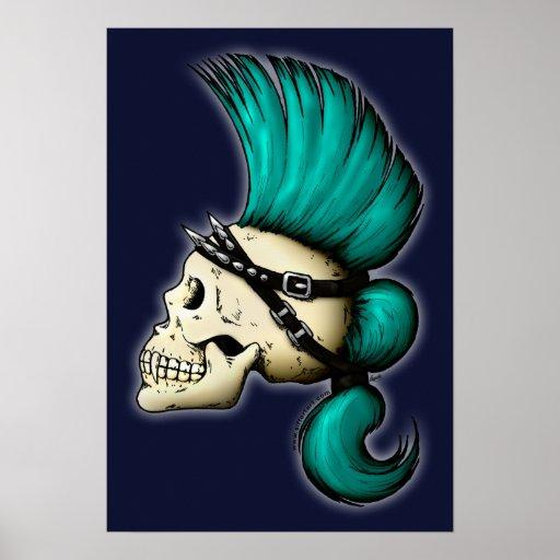 Punk Skull Print
