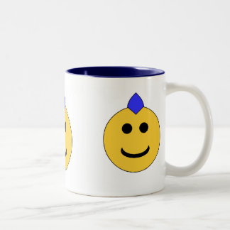 Punk Smiley Two-Tone Mug