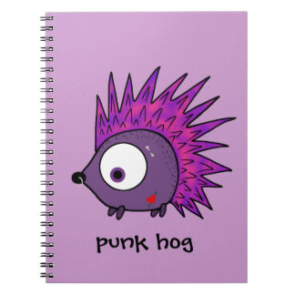Punk the Hedgehog Notebook