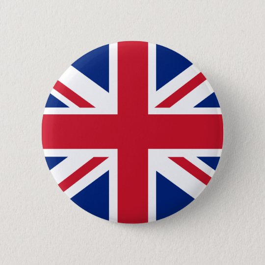 PUNK UK FLAG 6 CM ROUND BADGE
