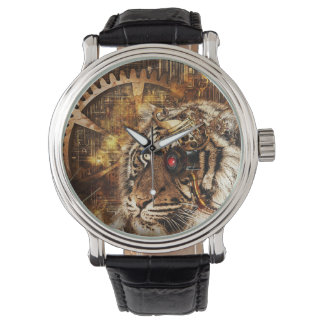 Punked Tiger Watch