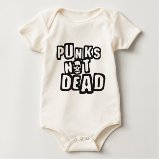 punks emergency DEAD Baby Bodysuit