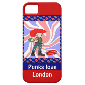 Punks love London Case For The iPhone 5