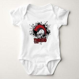 Punks Not Dead Baby Bodysuit