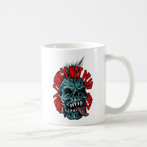 Punk's Not Dead Coffee Mugs