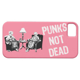 Punks Not Dead Pink Horizontal iPhone 5 Covers