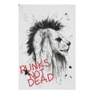 punks not dead posters