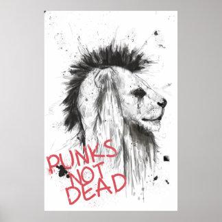 punks not dead poster
