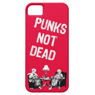 Punks Not Dead Red Vertical iPhone 5 Covers