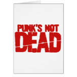 Punk's Not Dead - Video Game Gamer Gaming Greeting Card