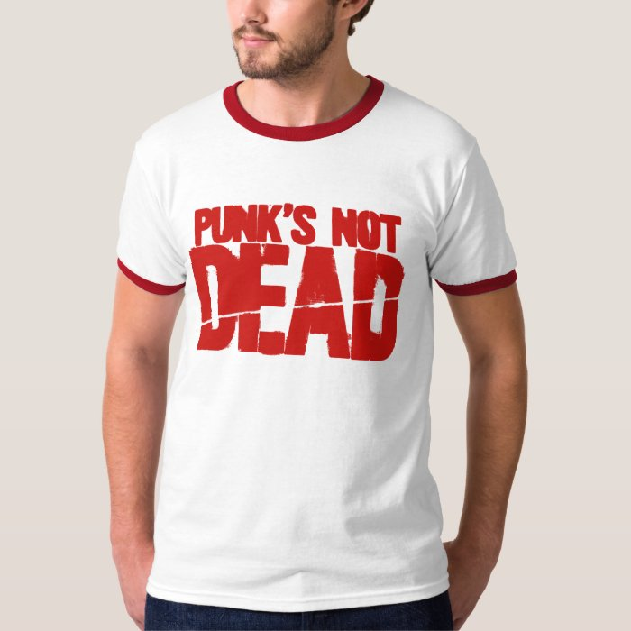 Punk's Not Dead - Video Game Gamer Gaming T-Shirt