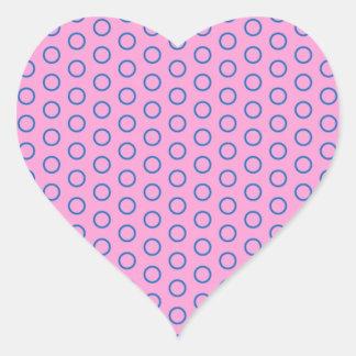 pünktchen purple pink pink scores polka dots dabs heart stickers