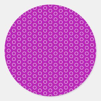 pünktchen scores dotted scored dots round sticker