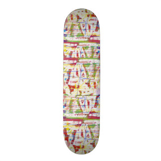 Punky Paint Board Skateboard Decks