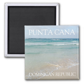 Punta Cana, Dominican Republic Beautiful Beach Magnet
