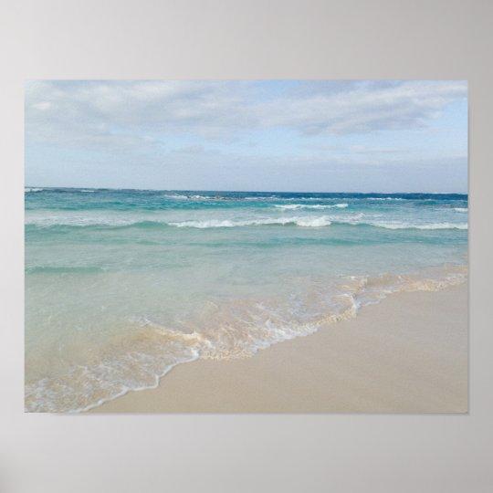Punta Cana, Dominican Republic Ocean Beach Poster