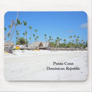 Punta Cana in the Dominican Republic Mouse Mat