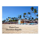 Punta Cana in the Dominican Republic Postcard
