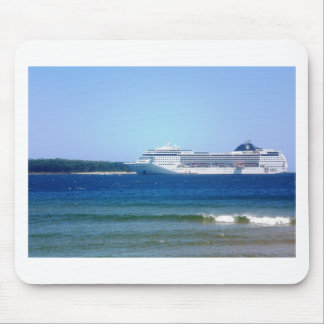 Punta Del Este Cruise Mouse Pad