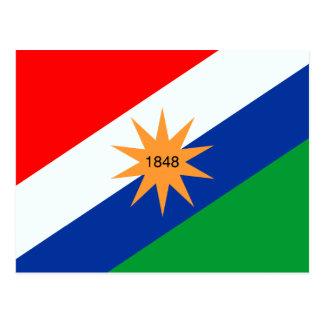 Puntarenas, Comoros flag Postcard