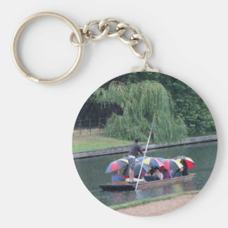 Punting in Cambridge Keychain
