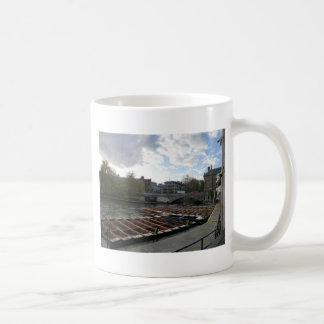 Punts on the River Cam in Cambridge Coffee Mug