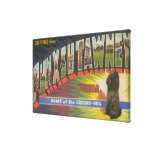 Punxsutawney, Pennsylvania (Groundhog) Gallery Wrap Canvas