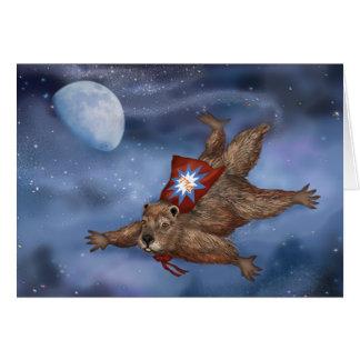 Punxsutawney Phil, Rodent Superhero Card