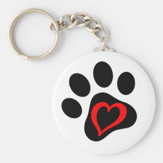 Pup-cake the Service Dog Key Ring