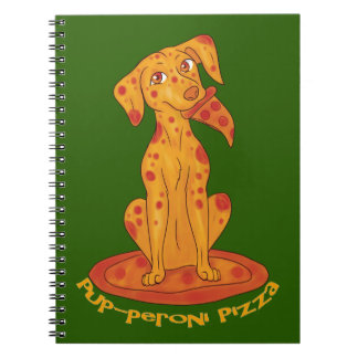 Pup-peroni Pizza Notebook