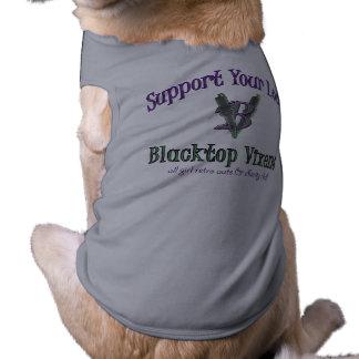 Pup Support - Blacktop Vixens Pup Shirt